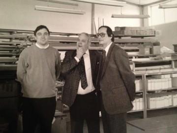 Werner Hanisch junior, Werner Hanisch senior, Christoph Leitl