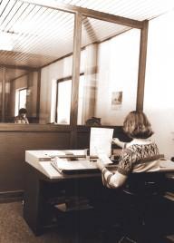 1977: Büro