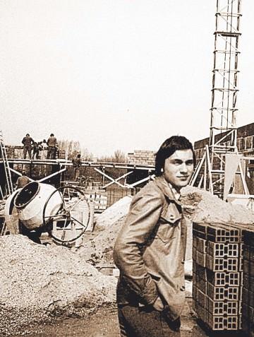 1977: Neubau