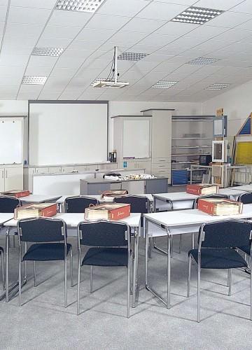 1992: Schulungsraum