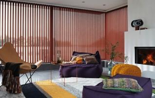 Art. Nr. VJ010-M, Lamellenbreite 127mm, Farbe 2871 tapis rot